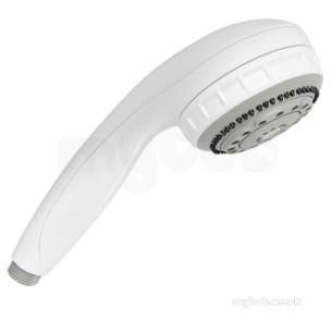 Aqualisa Showers -  Aqualisa 215026 White Complete Turbostream Handset