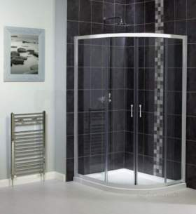 Aqualux Shine Products -  Shine Offset Quadrant Twin Door 800x1000