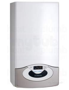 Ariston He Boilers -  Ariston 3665031 White Genus 38ff High Efficiency Condensing Combi Natural Gas Boiler