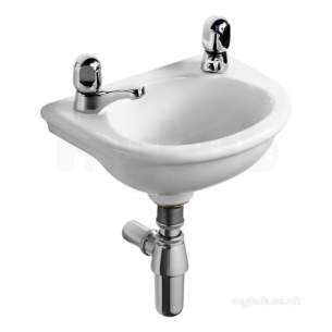 Armitage Sandringham Select -  Armitage Shanks S271601 Sandringham 350mm Handrinse Basin 1 Left Taphole No Overflow