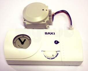 Baxi Domestic Gas Boilers -  Baxi 5117391 White Accessory Wireless Programmable Room Thermostat 24 Hour