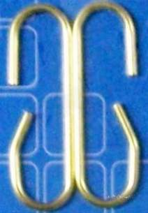 Own Brand Blister Packs -  Center Brand Udc/54/002 Na Small Metal Siphon C Links Pair