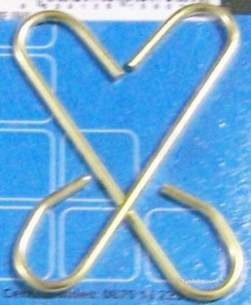 Own Brand Blister Packs -  Center Brand Udc/54/004 Na Large Metal Siphon C Links Pair