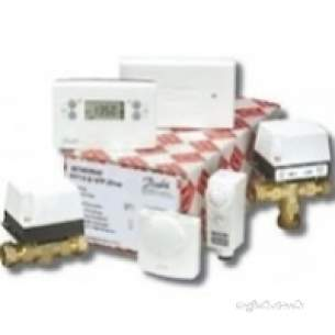 Danfoss Randall Domestic Controls -  Danfoss 087n650054 White Fp715 28mm Unvented Control Pack