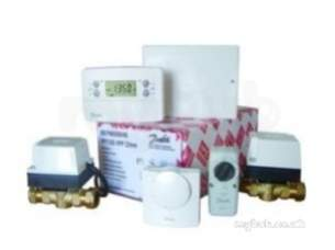 Danfoss Randall Domestic Controls -  Danfoss 087n650140 White Cp715sihpp Heat Share 2 Port Pack