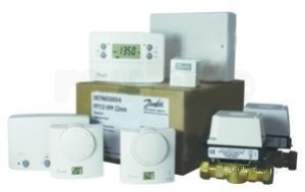 Danfoss Randall Domestic Controls -  Danfoss 087n688700 White Radio Frequency Controlled Pump Plan Control Pack