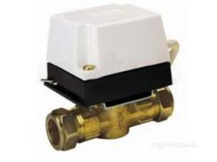 Danfoss Randall Domestic Controls -  Danfoss 087n664200 White Hp22b 2 Port Valve 22mm And Hpa2 Actuator