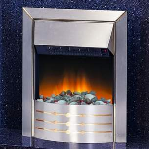 Effluent Tanks -  Dimplexlexlex Asp20 Stainless Steel Aspen Optiflame Electric Fire Inset
