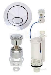 Ball Float Valves -  Fluidmaster Pro550uk Na Pro Series Cable Dual Flush Valve