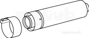 Glow Worm Domestic Gas Boilers -  Glow-worm A2036900 Na Telescopic Flue Extension