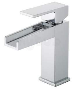 Bristan Brassware -  Bristan Ha Basnw C Chrome Hampton One Handle Waterfall Basin Mixer