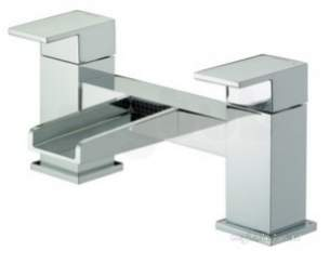 Bristan Brassware -  Bristan Ha Bf C Chrome Hampton Two Handle Waterfall Bath Filler