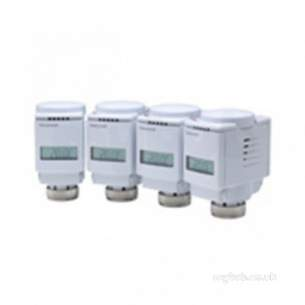 Honeywell Evohome Products -  Honeywell Hr804uk White Evohome Zoning Pack Four Wireless Radiator Thermostat