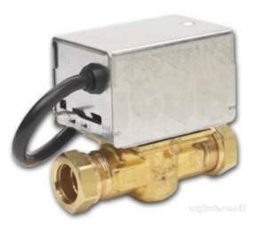 Thornmyson Boiler Spares -  Honeywell V4043h1056 White V4043h Motorised Zone Valve With 22mm Compression