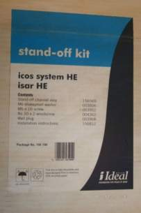 Ideal Domestic Gas Boilers -  Ideal 156190 Na Isar Stand Off Kit