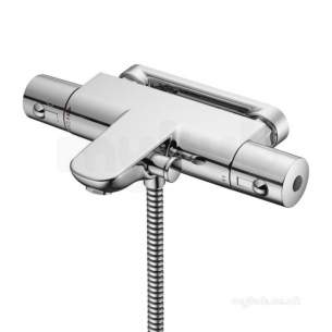 Ideal Standard Showers -  Ideal Standard A5634aa Chrome Alto Thermostatic Shower Mixer Without Kit