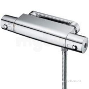 Ideal Standard Showers -  Ideal Standard A5637aa Chrome Alto Thermostatic Shower Mixer For 15mm Pipework