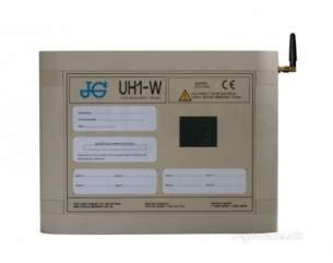 John Guest Underfloor Heating Components -  John Guest Jgwwc White 8 Zone Wireless Wiring Centre
