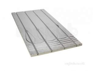John Guest Underfloor Heating Components -  John Guest Jgufhboard2 Na 1250x350mm Foil Faced Board