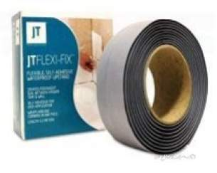 Just Trays Jt40 Slimline Shower Trays -  Just Trays Fix12 Na Flow Box Set Of 12 Flexible Hose Adhesive Steps For Upstand