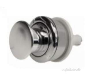 Miscellaneous Cistern Accessories -  Bfvwqbucp-docm Polished Chrome Wirquin Replacement Single Flush Push Button