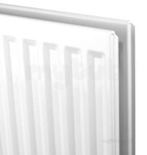 Myson Premier Metric -  White Premier Metric Single Convector Radiator 2 Connections 600mm X 1800mm