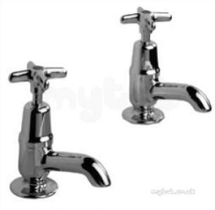 Ravenheat Boiler Spares -  Pegler Yorkshire 305008 Chrome Performa Lever Handle Hot Bath Tap 131 Mm Overall Height