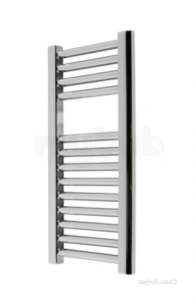 Caradon Ladder Towel Rails -  Stelrad 147001 Chrome Mini Straight Ladder Mini Heated Towel Rail 700mm H X 400mm W