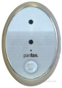 Thomas Dudley Cisterns -  Thomas Dudley Psppac322583 Chrome Panfan Odour Extractor With Sensor In Chrome