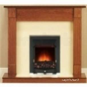Valor Electric Fires -  Valor 05050d1 Durham Longlite Electric Suite With Blenheim Fire