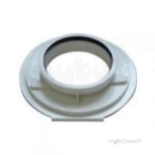 Worcester Domestic Gas Boilers -  7716191164 White Flue Connector Vertical 60-100