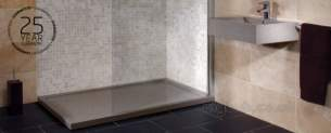 Just Trays Jt40 Slimline Shower Trays -  Jt 1000 X 800 Jt40 Natural Steel Grey