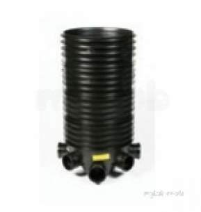 Polypipe Underground Drainage -  160mm Base Unit Inc. Base And 4 Riders Icdb2