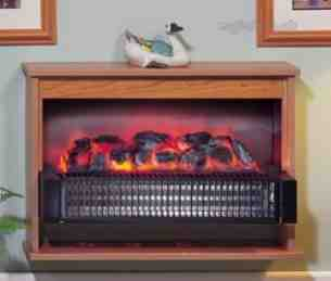 Dimplex Electric Fires -  Dimplex Optima Trad Fire Cherry 314che