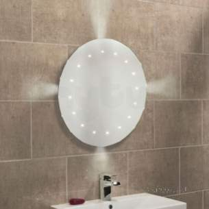 Roper Rhodes Accessories -  Opus Round Led Mirror With Ambi Light-special