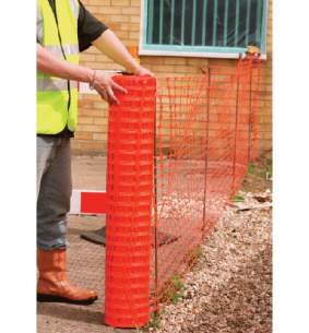 Miscellaneous Commercial Products -  Own Brand Orange Barrier Fencing
