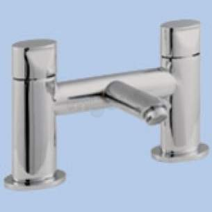Twyfords Contemporary Brassware -  Orb 2 Tap D/m Bath Filler 429350 Rb5255cp