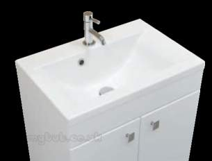 Eastbrook Sanitary Ware -  Eastbrook 51.0087 Oslo 58 Cast Top White