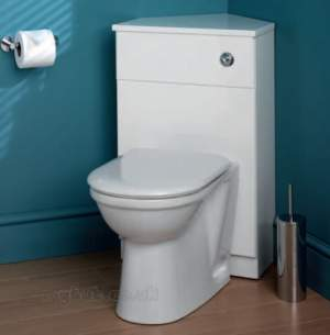 Eastbrook Furniture -  1.262 Oslo Corner Wc Unit C/w Top And Wh