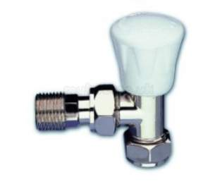 Myson Manual Radiator Valves -  Myson Matchmate 2 8mm Ls Valve Brass