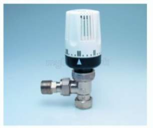 Myson TRVs -  Myson Petite 10mm Trv Plus Ls Nickel Finish