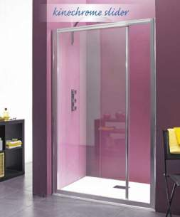 Saniflo Kinedo Shower Cubicles -  Kinechrome 1200mm Sliding Door 2806