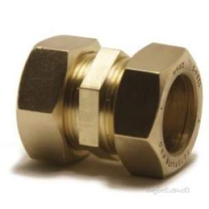 Kuterlite 900 Range Compression Fittings -  Kuterlite 910 28mm X 22mm Str Coupling