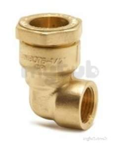 Isiflo Fittings For Mdpe 20mm 63mm -  Pegler Yorkshire R122 32x3/4fi 90 Dzr Elbow