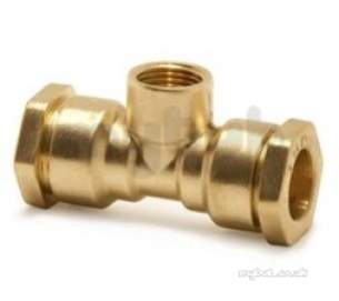 Isiflo Fittings For Mdpe 20mm 63mm -  Pegler Yorkshire R132 40x40x1 1/4 Fi Dzr Tee