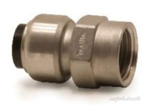 Tectite 316 Stainless Steel Fittings -  Pegler Yorkshire Tectite Ts2 Fi Connector 22x1