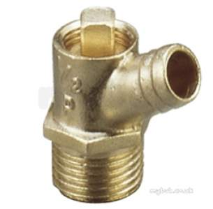 Safety Valves and Do Cocks -  1/2 Inch Bmt Plug Drain Cock Type B 834
