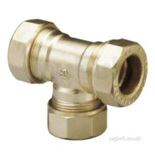 Prestex Pl Fittings -  Pegler Yorkshire Prestex Pl50 Equal Tee 25