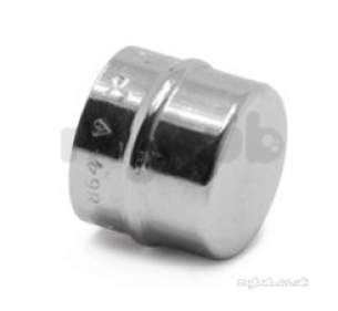 Yorkshire General Range Yp -  Yp61cp 28 Comm Chrome Stop End 08685