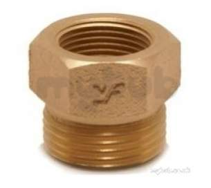 Yorkshire General Range Yp -  Yorks Yp72 Fi Hex Nipple 2.1/2x2